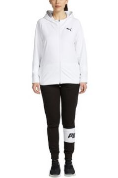 Ensembles de survêtement Puma W HOODED SWEAT TUTA BIANCA(115538046)