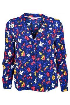 Chemise Tommy Jeans Chemise fluide bleu à motifs fleurs pour femme(88613989)