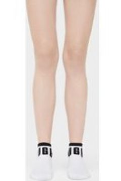 UGG Ankle Chaussettes pour Femmes en White | Rayonne(112239484)