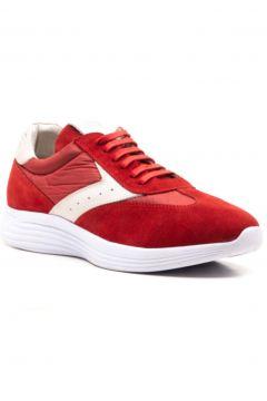 Ferre Erkek Kırmızı Hakiki Deri Sneaker Ayakkabı(124474928)