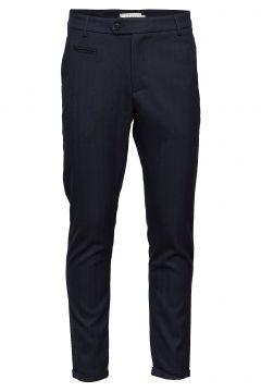 Malus Suit Pants Anzughosen Businesshosen Blau LES DEUX(114631465)