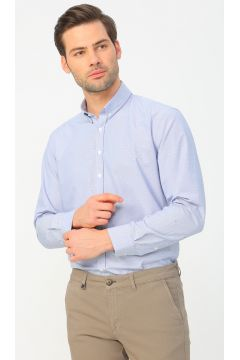 George Hogg Lacivert Beyaz Gömlek(114003186)