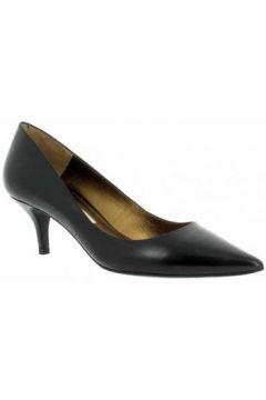 Chaussures escarpins Pura Lopez 675 veau Femme Noir(98746197)