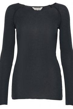 Amalie Solid Langärmliges T-Shirt Grau GAI LISVA(114559608)