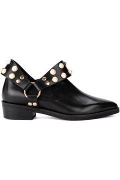 Boots Coliac Demi-botte Griet en cuir noir avec des perles(115417874)
