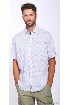 Мужские рубашки с коротким рукавом(109015298)