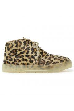 Turnschuhe mit Schnürsenkeln Leopard(112327451)