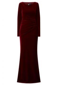 Abendkleid aus Samt mit Drapierung(108217086)