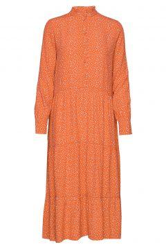 Coleen Kleid Knielang Orange SIX AMES(108839198)