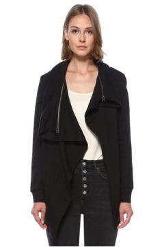 Allsaints Kadın Dahlia Siyah Sweatshirt XS EU(122583396)
