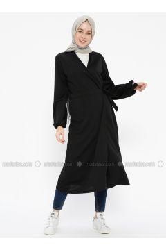Black - Cardigan - İLMEK TRİKO(110313417)