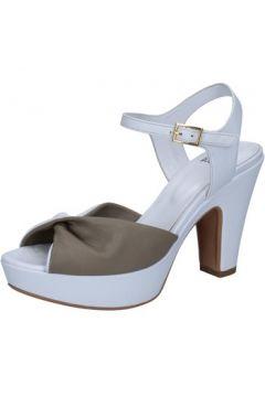 Sandales Silvia Rossini sandales blanc cuir beige BZ577(88514620)