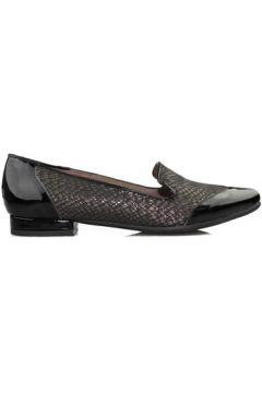 Chaussures Kroc chaussures en cuir verni anthracite femme(115448832)