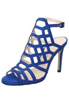 Sandales Olga Rubini sandales bleu daim BY326(115629584)