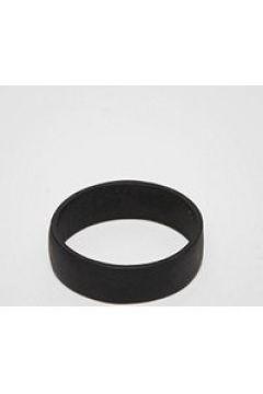 ASOS DESIGN Plus - Ring mit Finish in Mattschwarz - Schwarz(92400424)