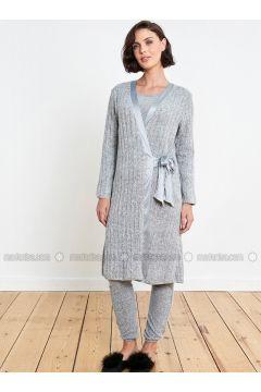 Gray - Morning Robe - Reflections(110320316)