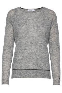 Ls Alpaca Blend Sweater Strickpullover Grau CALVIN KLEIN(117080479)