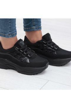 Almera Siyah Kadın Spor Ayakkabısı(110934764)