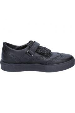 Chaussures 2 Stars sneakers noir cuir glitter BX380(115442545)