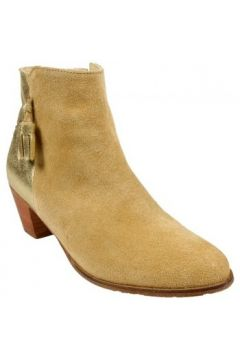 Bottines Bobbies Boots Linsouciante Beige(88617059)