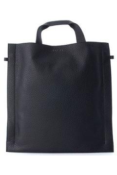 Cabas Orciani Sac en cuir grainé noir(115461094)