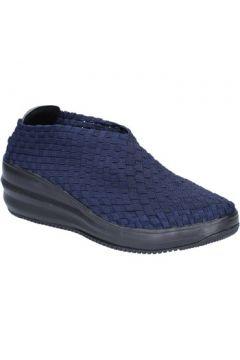 Chaussures Cristin slip on bleu textile BX632(115442604)