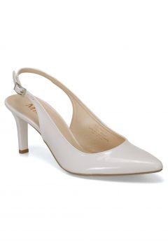 Miss F Beyaz Kadın Gova Ayakkabı Ds19073r(122888459)