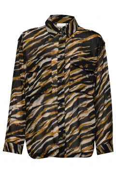 Crisantagz Shirt Ao20 Langärmliges Hemd Bunt/gemustert GESTUZ(117080682)