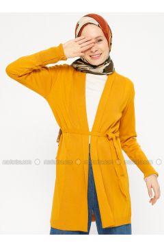Mustard - Acrylic -- Cardigan - PINK APPLE(110333785)