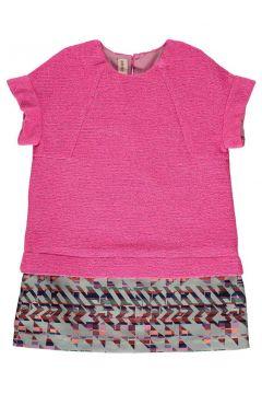 Zweifarbiges Kleid Lurex Step(112328296)