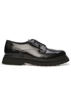 Prada Erkek Siyah Delik Desenli Deri Ayakkabı 0 UK(126848029)