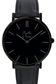 Montre Menthe A L\'eau La Véritable cuir noir(115516306)