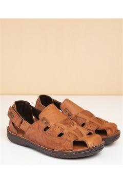 Pierre Cardin Erkek Sandalet Taba(116842604)