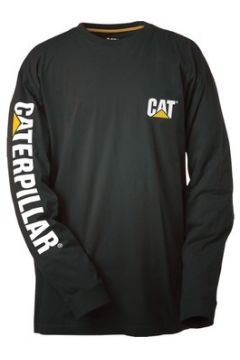 T-shirt Caterpillar Trademark Banner Long Sleeve T-Shirt(115388552)