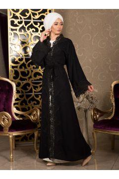 Abaya De Soirée İz Otantik Noir(125449242)