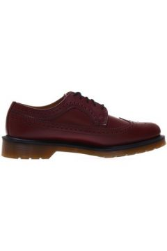 Chaussures Dr Martens Cherry Red Smooth Brogues(101546243)