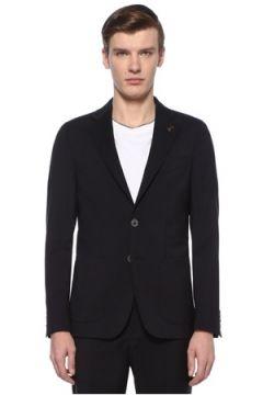 Pal Zileri Erkek Drop 7 Lacivert Yün Takım Elbise 50 IT(108809970)