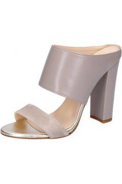 Sandales Islo sandales beige cuir daim BZ329(115398904)