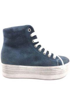 Chaussures Jeffrey Campbell sneakers bleu daim AY803(115443239)