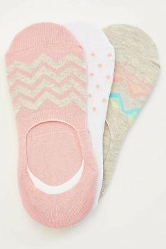 DeFacto Kadın 3\'lü Kısa Çorap(108642634)