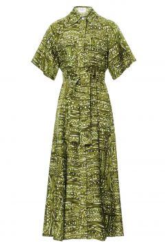 Kleid aus Seide Josan(122365465)