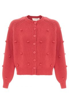The Cropped Bobble Cardigan(117291515)