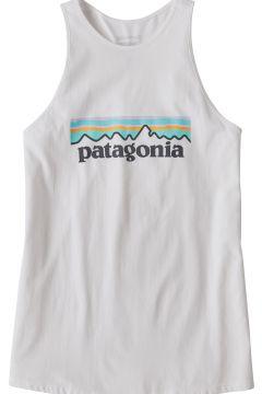 Patagonia Pastel P-6 Logo Organic High Neck Damen Panzerweste - White(119262333)