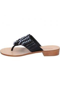 Sandales Eddy Daniele sandales noir satin perline aw446(115442451)