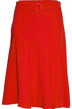Ufo Knielanges Kleid Rot SPORTMAX CODE(114165341)
