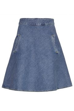 Heavy Indigo Stelly Kurzes Kleid Blau MADS NØRGAARD(109011243)