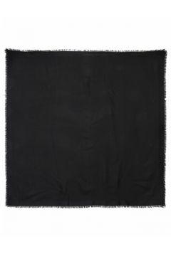 Saint Laurent Kadın Siyah Mikro Desenli İpek Şal EU(120084208)