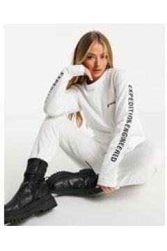 "Berghaus - Maglietta a maniche lunghe con scritta \""Expedition Engineered\"" bianca-Bianco(122835328)"