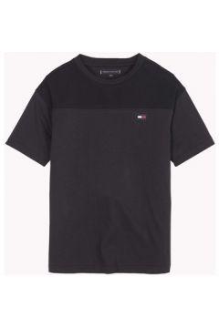 T-shirt enfant Tommy Hilfiger KB0KB04546 SPORTS PIQUE(115628307)