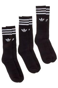adidas Originals Solid Crew Socks zwart(85189499)